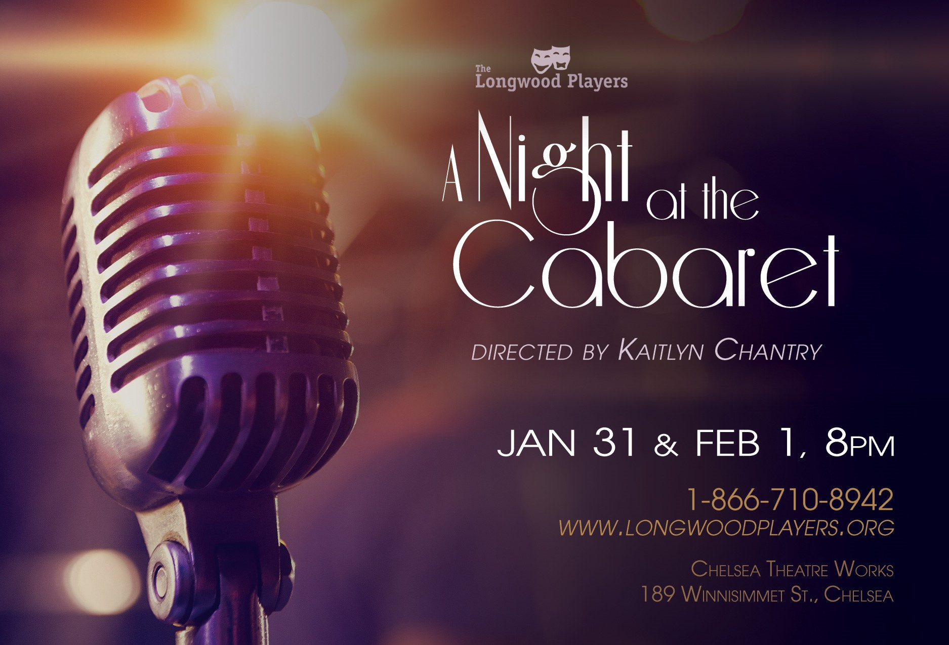 Poster for A Night at the Cabaret 2020
