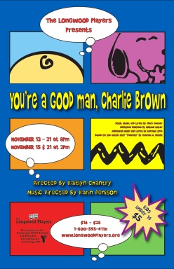 Poster for You're a Good Man, Charlie Brown