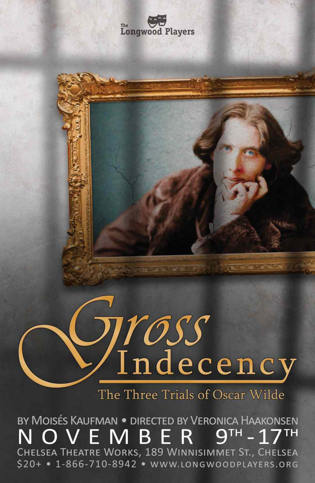 Poster for Gross Indecency: The Three Trials of Oscar Wilde