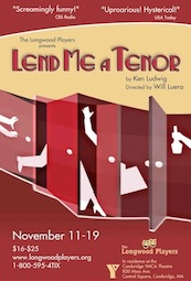 Poster for Lend Me a Tenor