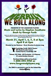 Poster for Merrily We Roll Along