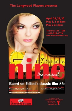 Poster for Nine: The Musical