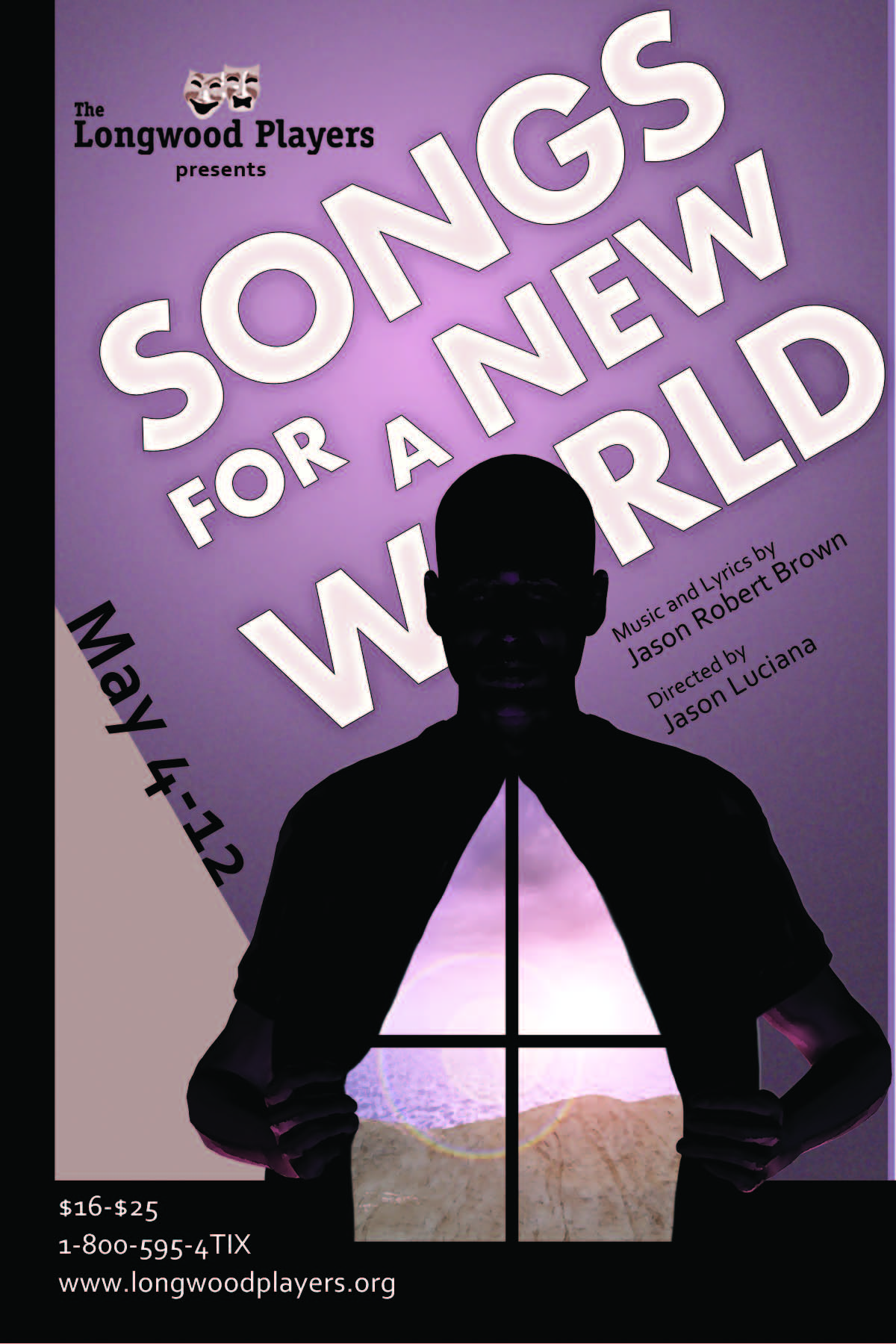 Poster for Songs for a New World